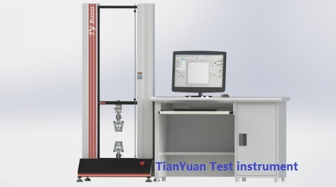 Ty8000 Electronic Universal Testing Machine 5000n/5kn Test Equipment (stepper motor)