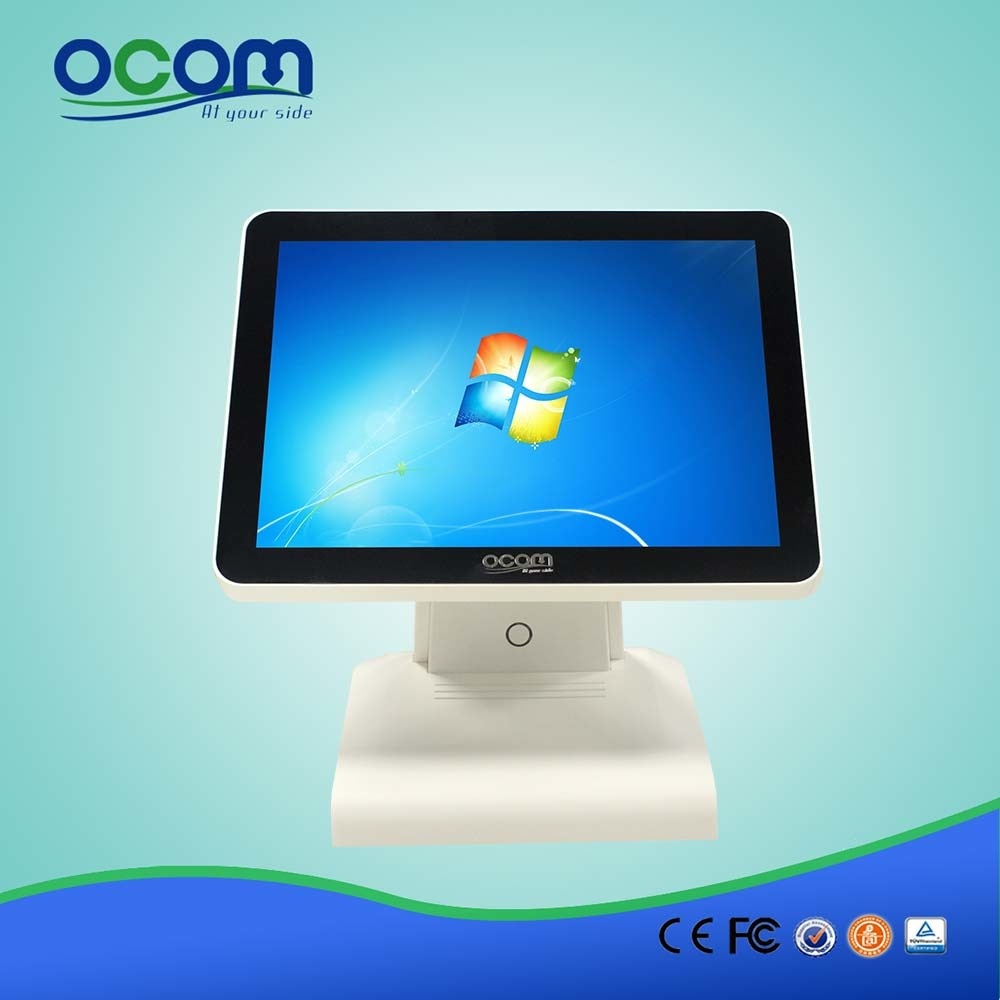 15 Inch All in One Touch Screen POS System