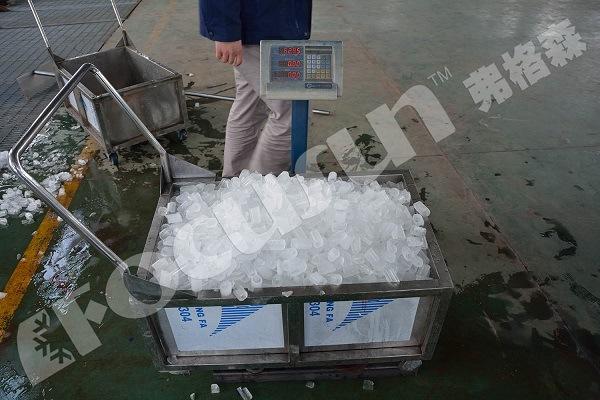 Tube Ice Plant -10 Degree Celsius Ice Temperature