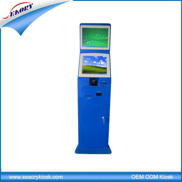 New Coming Electronic Ticket Dispenser Standing Kiosk Terminal Machine