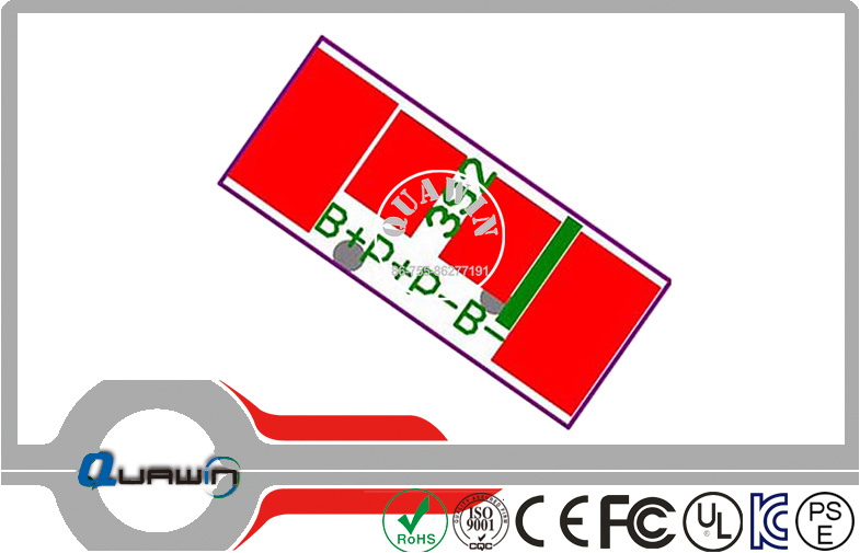 7s BMS / PCM PCM-L07s10-269 for Li-ion / LiFePO4 Battery