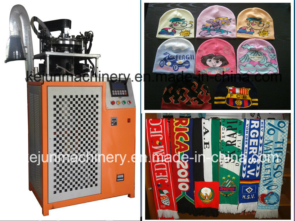 High Speed Cap and Scarf Knitting Machine
