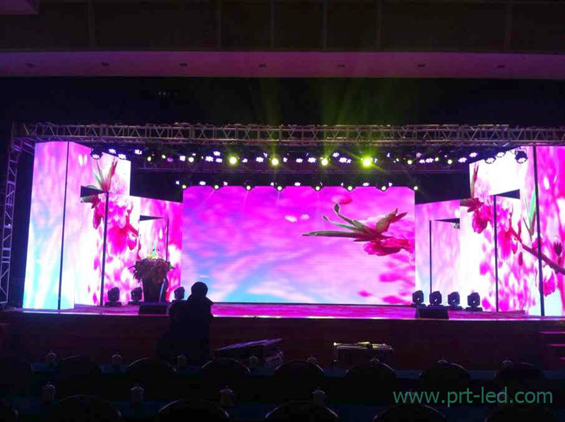 Popular Indoor P3.91 Full Color LED Video Screen for Background