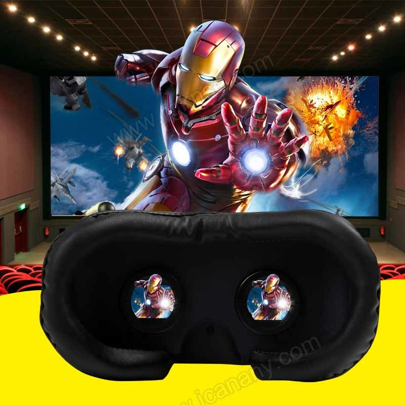 Vr 3D Cinema Game with 3D Virtual Reality Glasses