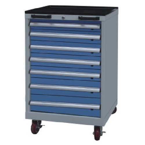 Westco Mobile Cabinet with Drawers (Workshop Trolley, Rolling Cabinet, MDC-1150-7)