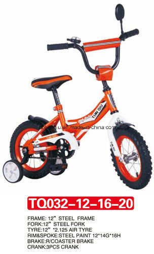 Beautiful of Baby Bicycle with Four Colors 12""