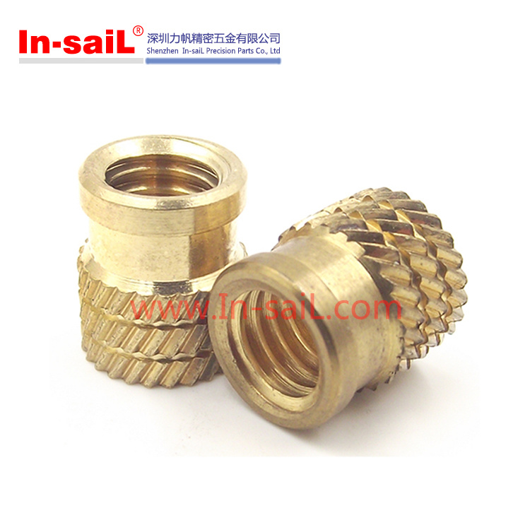 Flanged - Threaded Inserts for Plastic Material