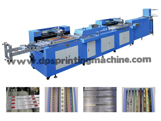 Label Ribbons/Cloth Labels Screen Printing Machine Ce Approved