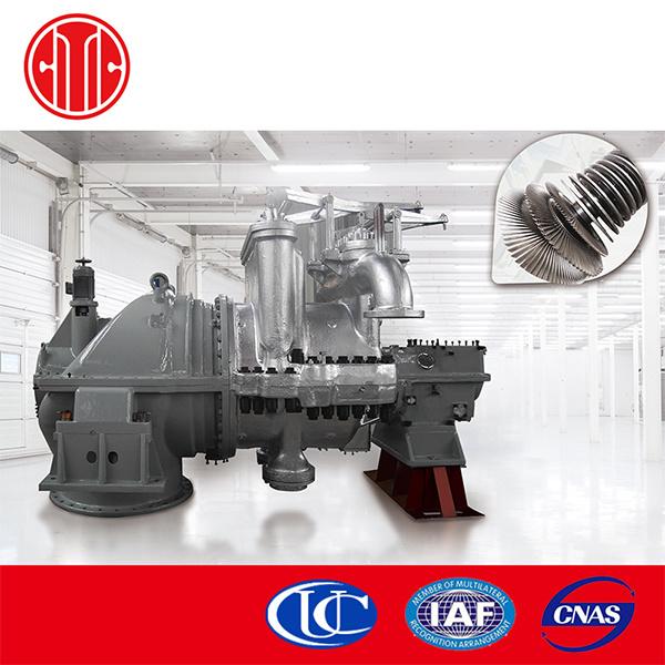 Complete Set 1000kw-60000kw Back Pressure Steam Turbine
