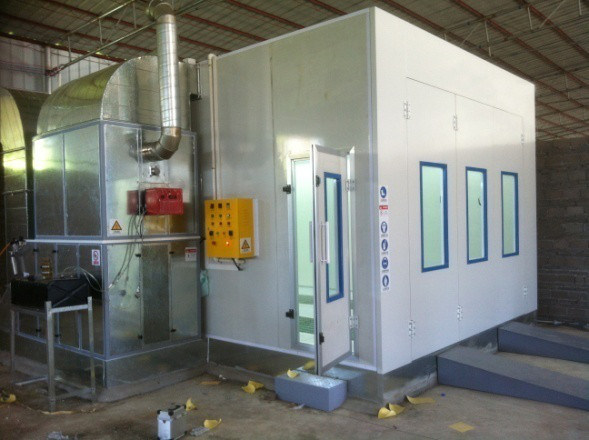 Spraying Booth with Low Price Environmental Spray Cabin Enhance Work Efficiency