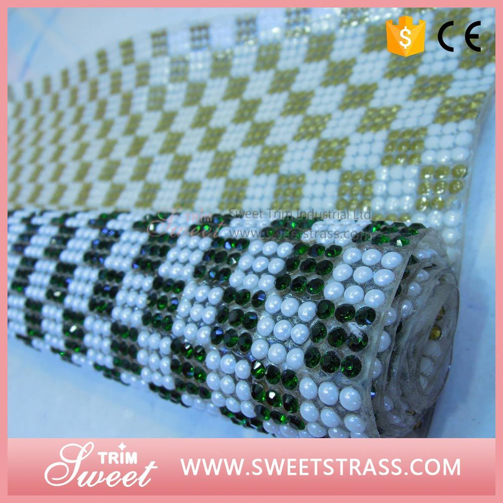 Custom Pattern Mirror Square and Pearl Sheet Wrap