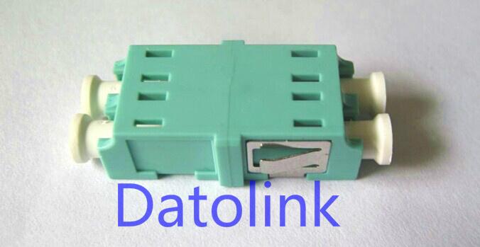 Aqua LC mm Dx Without Flange Fiber Optical Adapter