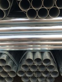 BS 1387 Q195 Welded Hot Dipped/Pre Galvanized Steel Gi Pipe