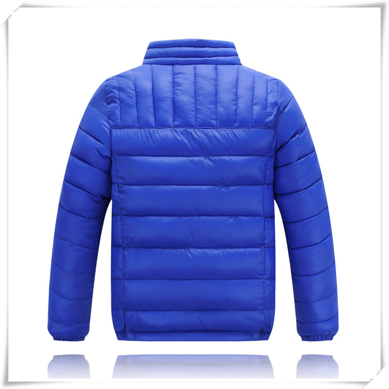 2016 New Type Logo New Fashion High Quality Winter Jacket Men Children Down Jacket 607