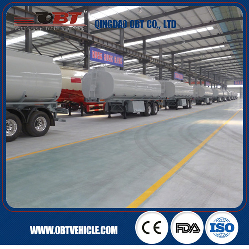 Stainless Steel Diesel Petroleum Tank Semi Trailer for Sale