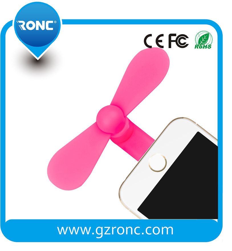 Hot Selling OTG USB Portable Mini Fan for iPhone