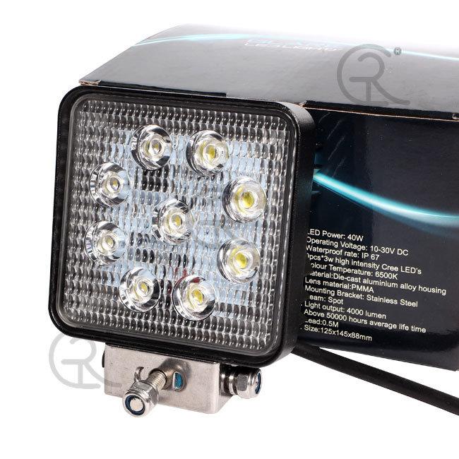 27W Waterproof LED Working Light (Warranty 1years)