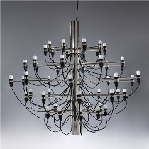50 Arms 2097 Stainless Steel Suspension Lamp