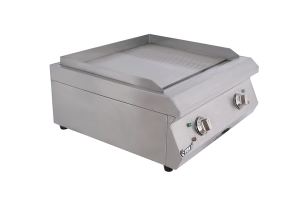 Commercial Counter-Top Electric Griddle (1/2 grooved) Et-Pl-600bp