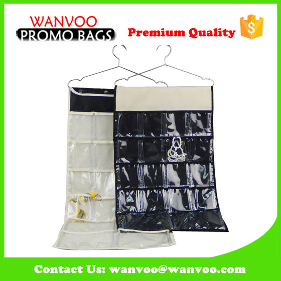 Blue Mutifunction Storage Folder Hanging Toiletry Bag Organizer