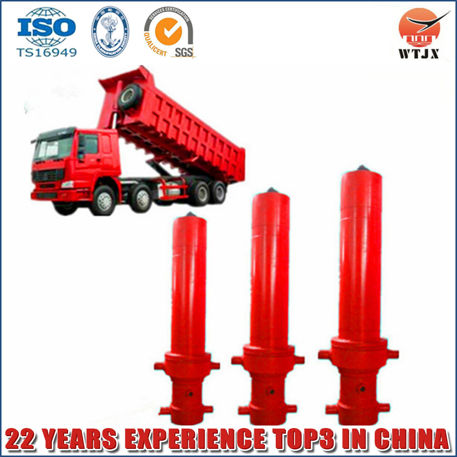 Hot Sale Quality Over Hyva Telescopic Cylinder for Dump Truck