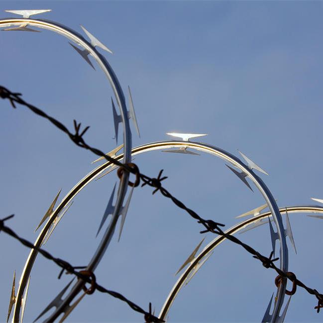 Factory Price Galvanized Razor Barbed Wire Made in China