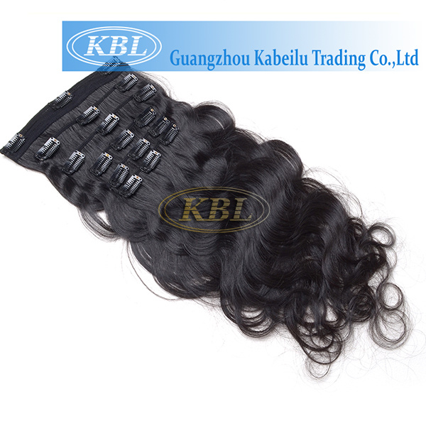 Very Soft Grade 5A Brazilian Clip-in-Hair