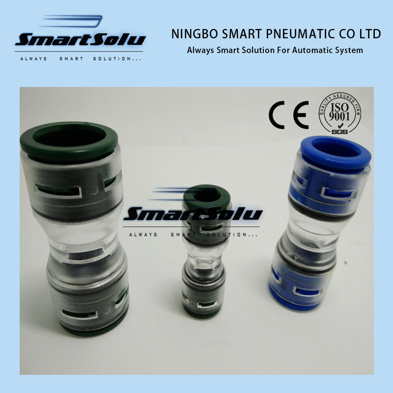 Straight Gasblock Fittings Microduct Connector