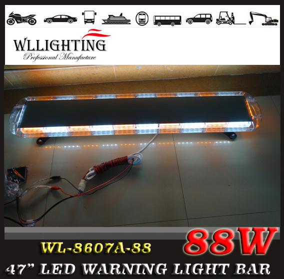 Police Car LED Emergency Warning Lightbar 47""