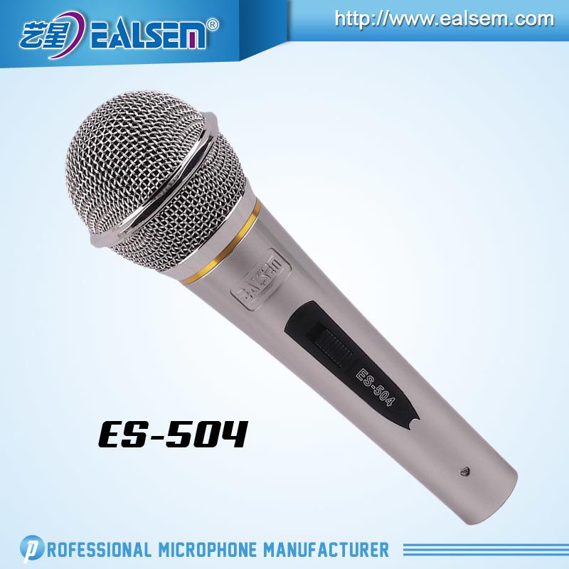 Es-504 Wired Computer Studio Condenser Microphone