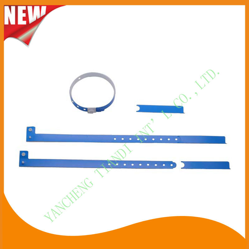 Hospital Plastic Wristband with Tail (8060-2)