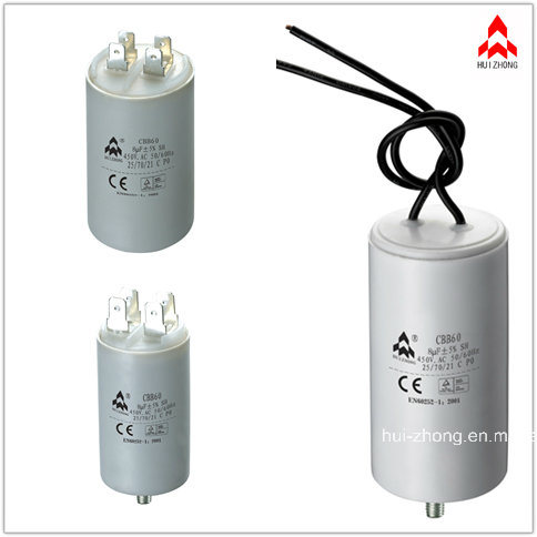 Capacitor Cbb60 Sh Capacitors with TUV. UL. CQC. CE