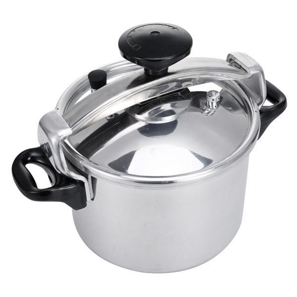 Fast Moving Home Appliance Aluminum Pressure Cooker (3L, 5L, 7L, 9L, 11L, 13L, 15L, 40L)