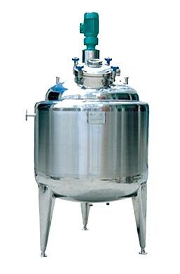 Storage Tank with Agitator / Cooling and Heating Tank