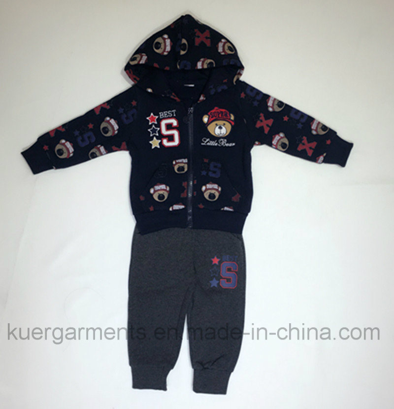Printed Fashion Boy Suit, Nice Style Kids Clothes