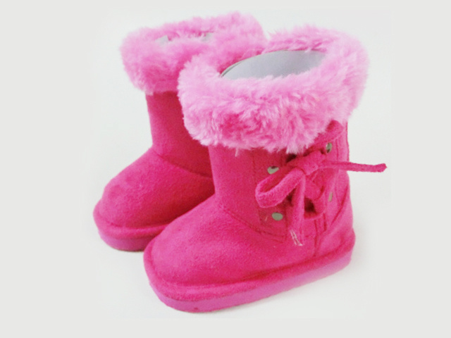 Cute Soft Home Outdoor Snow Boots for Boys and Girls