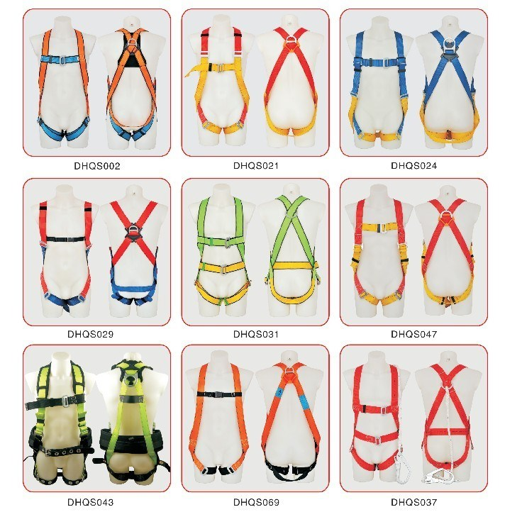 Construction Full Body Safety Belt with Ce Approved
