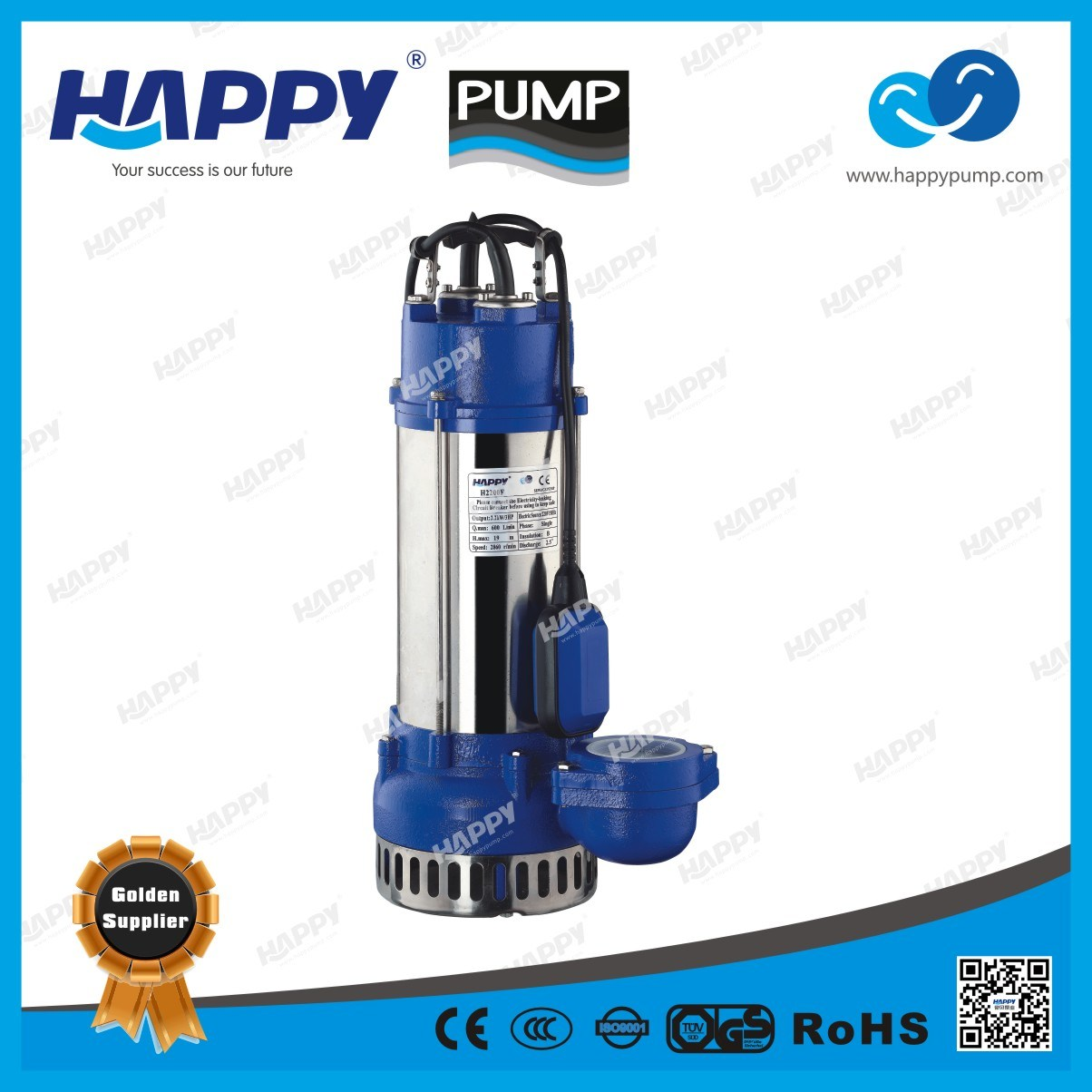 Electric Submersible Sewage Pump (H2200F)