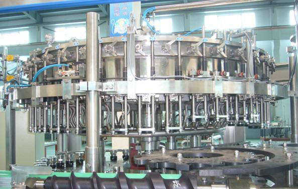 SGS Full Automatic Glass Bottle Beverage Filling Machine