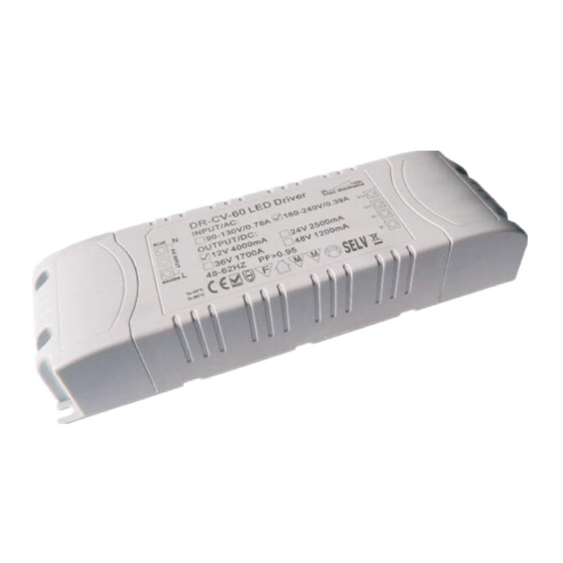 Type 60W Single Output Dimming LED Driver with Constant Current