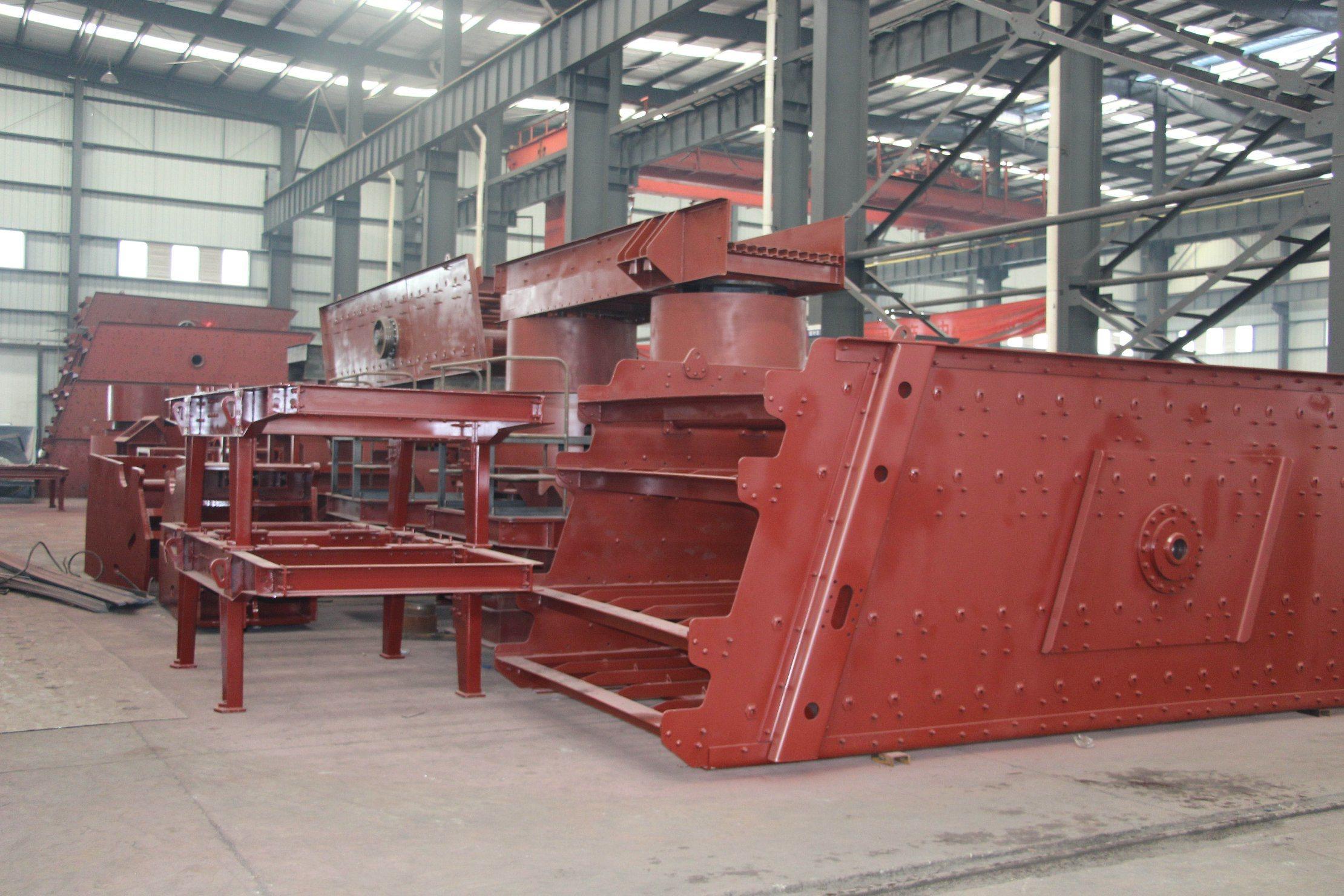 Rotary Screen Vibrating Machine for Mining Equipment
