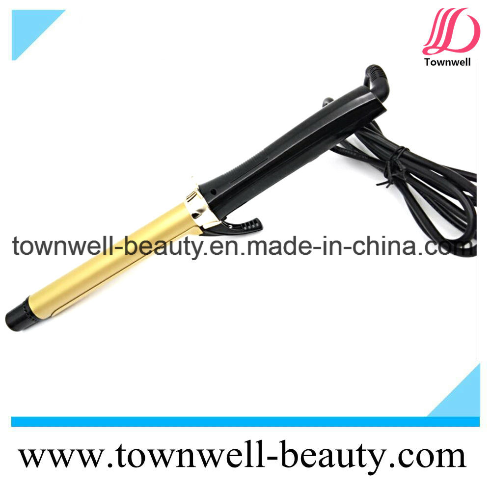 Adjustable Temperature LCD Digital Hair Curler with Universal Voltage
