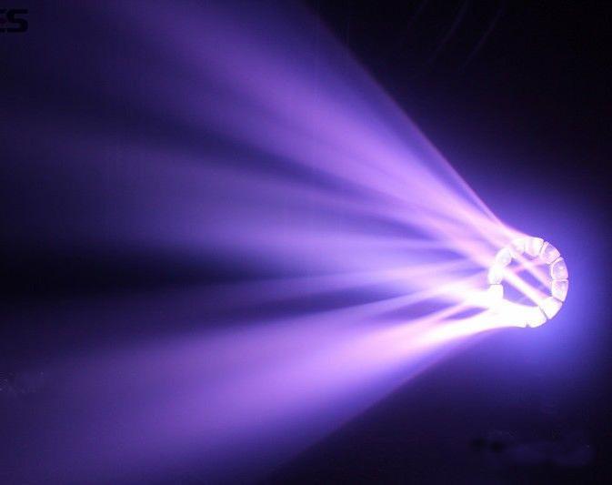 19X15W LED RGBW Big Eye Moving Head Light with Zoom Beam Wash Effect