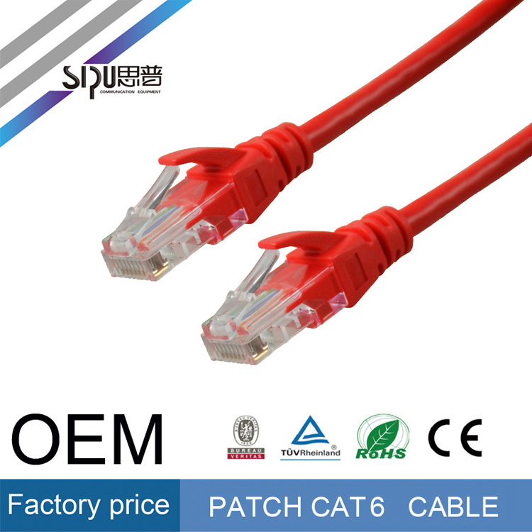 Sipu UTP CAT6 Patch Cord Cable Ethernet Network Cable