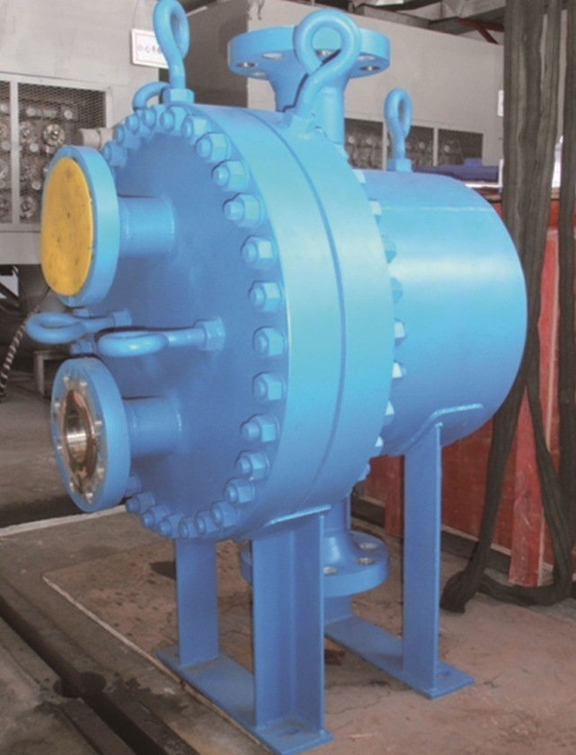 Plate & Shell Heat Exchanger From Smderi