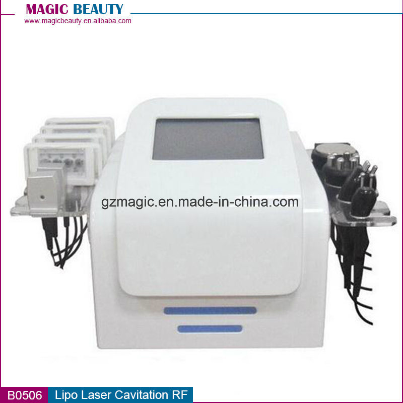 B0506 Multifunction Lipo Laser Dual Wavelength 650nm 980nm Lipo Laser Slimming Machine