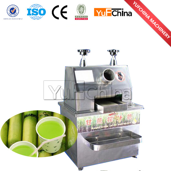 Sugarcane Squeezing Machine / Commercial Sugar Cane Juicer