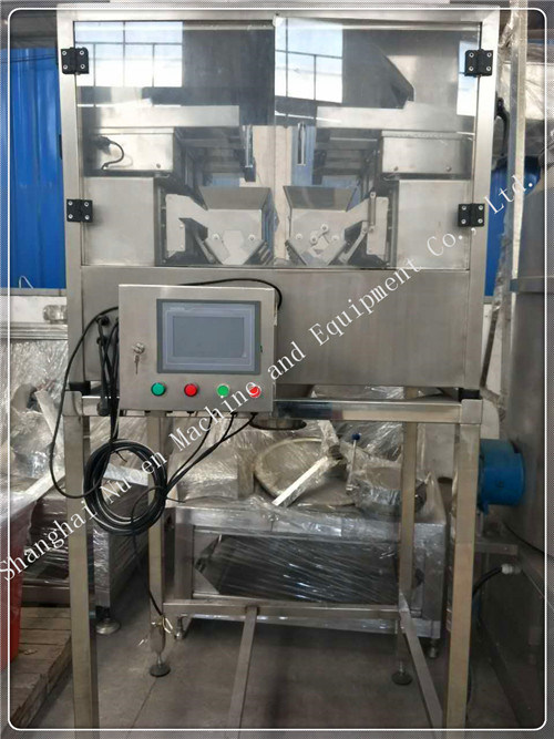 Nuoen Six Stations Automatic Weighing Machine for Particles/Powder