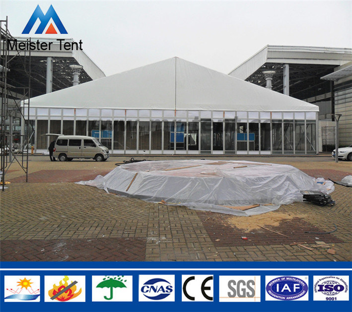 Big Outdoor Used Clear Span Exhibition Tent for Wedding Event