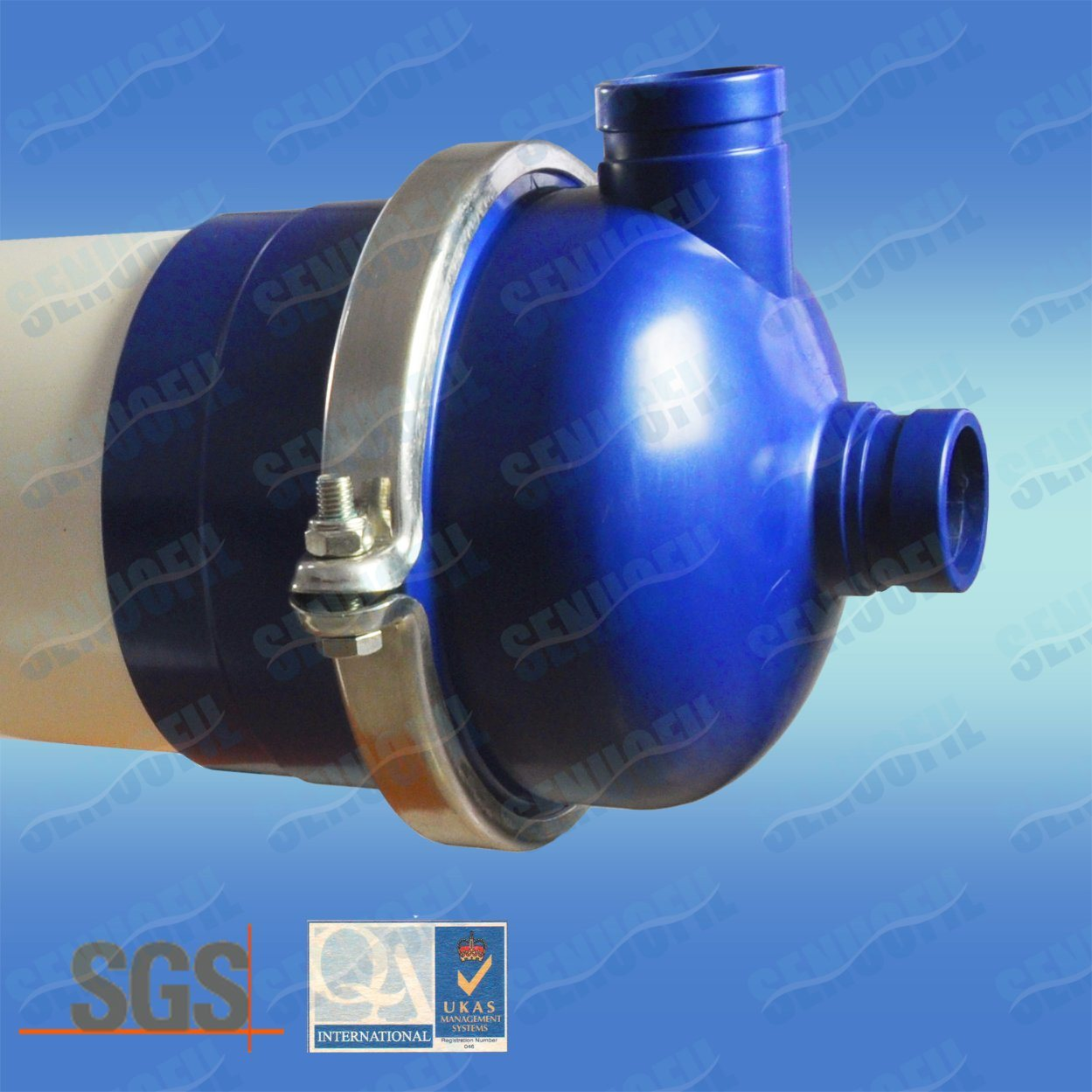 Outside-in PVDF UF Membrane Filter Housing Modules for Water Treatment